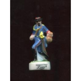 Fève à l'unité Zorro II n°4 / 0.5p9e13