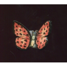 Fève à l'unité Papillon vole II n°6 / 0.5p14f7