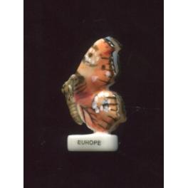 Fève à l'unité Papillon vole I n°4 / 0.5p14c9