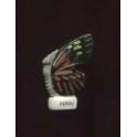 Fève à l'unité Papillon vole I n°6 / 0.5p14e9