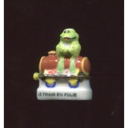Fève à l'unité Trains en folie I n°8 / 0.5p14e16