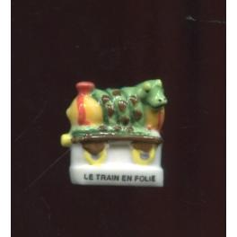 Fève à l'unité Trains en folie I n°10 / 0.5p15a1