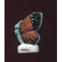 Fève à l'unité Papillon vole III n°7 / 0.5p15b2