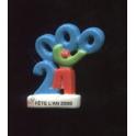 Fève à l'unité Champion fête l'an 2000 n°6 / 0.5p20f6