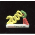 Fève à l'unité Champion fête l'an 2000 n°7 / 0.5p20a7
