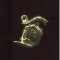 Fève à l'unité Mickey pendentifs n°1 / 0.5p22d4