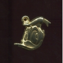Single feve from Mickey pendentifs n°1 / 0.5p22d4