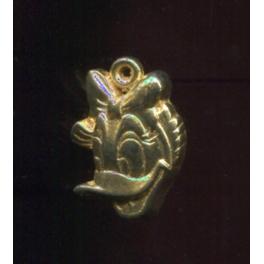 Fève à l'unité Mickey pendentifs n°3 / 0.5p22f4
