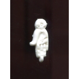 Single plastic feve from Main n°1 / 0.5p24a5