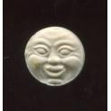 Fève ancienne à l'unité Lune n°2 / 0.5p24d7