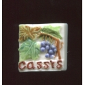 Single feve from Le cassis brillant n°1 / 0.8p5e4