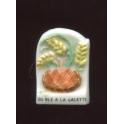 Fève à l'unité Du blé à la galette II n°3 / 0.8p7a8
