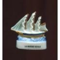 Fève à l'unité La marine royale I n°4 / 0.8p8d8