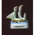 Fève à l'unité La marine royale I n°7 / 0.8p8a9