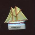 Fève à l'unité La marine royale I n°8 / 0.8p8b9